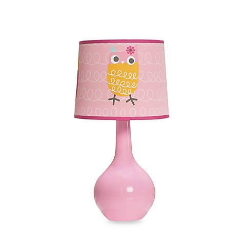 Zutano Owls Lamp & Shade