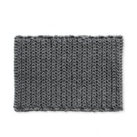 """Madison Park Lasso 24"""" x 17"""" Chain Bath Rug in Charcoal"""