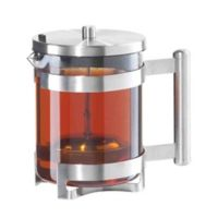 Oggi™ Borosilicate Glass Teapot with Lift-Out Stainless Steel Tea Infuser