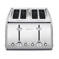 Krups® 4-Slice Toaster in Sliver