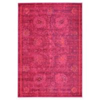 Unique Loom Salamanca Palazzo 4' X 6' Powerloomed Area Rug in Red