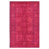Unique Loom Salamanca Palazzo 5' X 8' Powerloomed Area Rug in Red