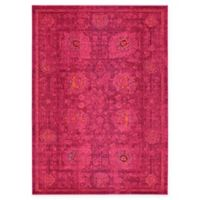 Unique Loom Salamanca Palazzo 7' X 10' Powerloomed Area Rug in Red
