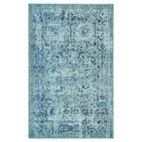 "Unique Loom Salamanca Palazzo 3'3"" X 5'3"" Powerloomed Area Rug in Light Blue"