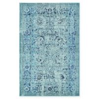 Unique Loom Salamanca Palazzo 5' X 8' Powerloomed Area Rug in Light Blue