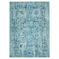 Unique Loom Salamanca Palazzo 7' X 10' Powerloomed Area Rug in Light Blue
