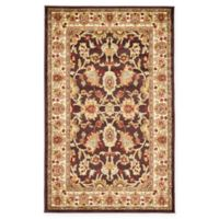 "Unique Loom Springfield Agra 3'3"" X 5'3"" Powerloomed Area Rug in Brown"