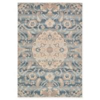 Unique Loom Spruce Kensington 7' X 10' Powerloomed Area Rug in Blue