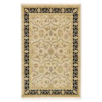 Unique Loom Tansy Heritage 5' X 8' Powerloomed Area Rug in Beige