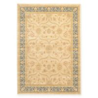 Unique Loom Tansy Heritage 7' X 10' Powerloomed Area Rug in Champagne