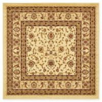 Unique Loom St. Louis Agra 6' X 6' Powerloomed Area Rug in Cream