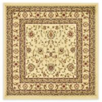 Unique Loom St. Louis Agra 4' X 4' Powerloomed Area Rug in Cream