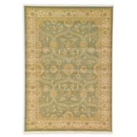 Unique Loom Tansy Heritage 7' X 10' Powerloomed Area Rug in Light Green