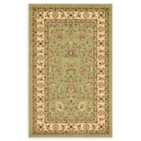 """Unique Loom St. Louis Agra 3'3"""" X 5'3"""" Powerloomed Area Rug in Green"""