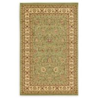 Unique Loom St. Louis Agra 5' X 8' Powerloomed Area Rug in Green