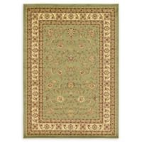 Unique Loom St. Louis Agra 7' X 10' Powerloomed Area Rug in Green