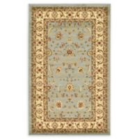 "Unique Loom St. Louis Agra 3'3"" X 5'3"" Powerloomed Area Rug in Light Blue"