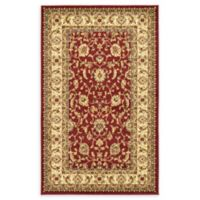 "Unique Loom St. Louis Agra 3'3"" X 5'3"" Powerloomed Area Rug in Red"