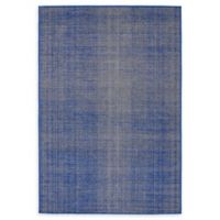 Unique Loom Solid Tribeca 4' X 6' Powerloomed Area Rug in Navy