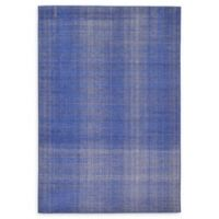 Unique Loom Solid Tribeca 6' X 9' Powerloomed Area Rug in Navy