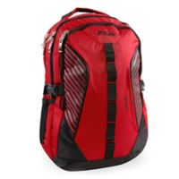 FILA Hunter Laptop Backpack in Red/Black