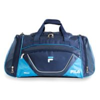 FILA Acer Large Duffle Bag in Navy/Blue
