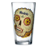 Luminarc Modelo Day of The Dead Colored Skull Pub Glass