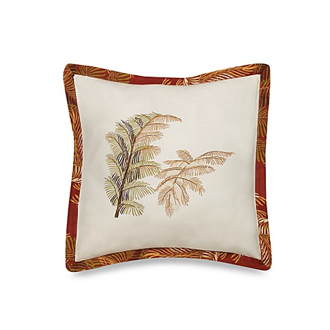 Bed Bath And Beyond Orange Throw Pillows : Tommy Bahama Orange Cay Square Throw Pillow - Bed Bath & Beyond
