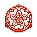 Le Creuset® Deluxe 9-Inch Round Trivet in Flame