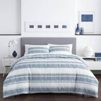 City Scene Enzo Twin Comforter Set in Blue