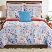 Pacific Coast Textiles Giverny Reversible 8-Piece King Comforter Set