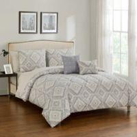 Nala 9-Piece California King Comforter Set in Neutral