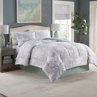 Adeline 8-Piece Full Comforter Set in Seaglass