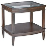 Madison Park Signature Dunkin End Table in Morocco Brown