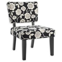Linon Home Taylor Accent Chair in Black