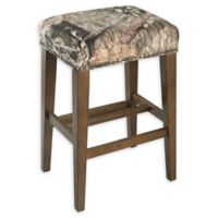 Linon Home Mossy Oak 30.5-Inch Backless Bar Stool
