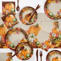 Creative Converting 73-Piece Harvest Wreath Party Supplies Kit