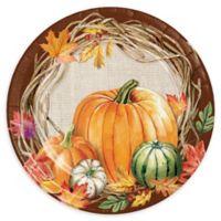 Creative Converting 24-Pack Harvest Wreath Dessert Plates