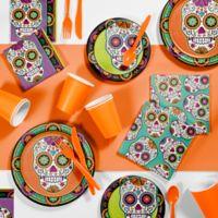 Creative Converting 81-Piece Dia De Los Muertos Halloween Party Supplies Kit