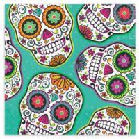 Creative Converting 48-Count Dia De Los Muertos Halloween Napkins