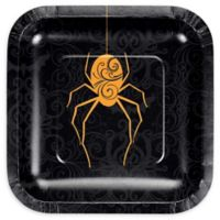 Creative Converting™ 24-Count Halloween Spider Paper Dessert Plates