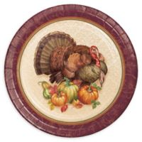 Creative Converting™ 24-Pack Thanksgiving Turkey Dessert Plates
