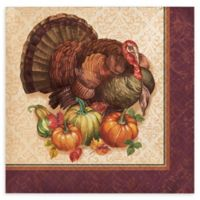 Creative Converting™ 48-Pack Thanksgiving Turkey Beverage Napkins