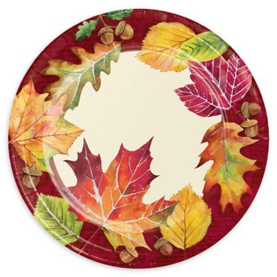 Buy Thanksgiving Plates from Bed Bath & Beyond