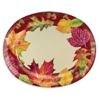 Creative Converting™ 24-Pack Fall Leaves Oval Plates