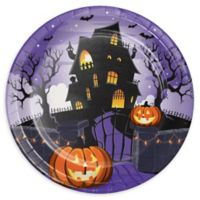 Creative Converting™ 24-Count Haunted House Halloween Paper Plates