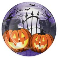 Creative Converting™ 24-Count Haunted House Halloween Paper Dessert Plates