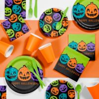 Creative Converting™ 81-Piece Playful Pumpkins Halloween Party Kit