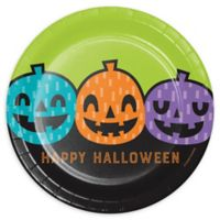 Creative Converting™ 24-Count Playful Pumpkins Halloween Paper Dinner Plates