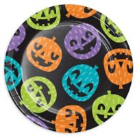 Creative Converting™ 24-Count Playful Pumpkins Halloween Paper Dessert Plates
